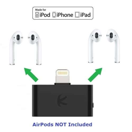 KOKKIA i10L Lightning Connector Bluetooth Splitter for iPhone,iPad,iPod Touch