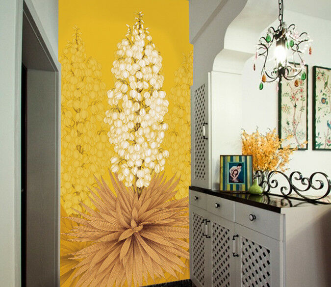 3D Flowers Field 455 Wall Paper Wall Print Decal Wall Deco Indoor Mural Lemon