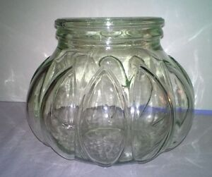 Large glass jar with bubbles for decor fish bowl candle for Large glass fish bowl