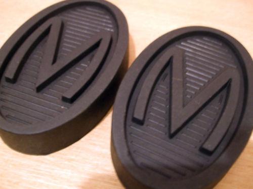 Pair Morris J Type Van Pedal Rubbers
