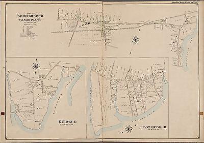 1902 E BELCHER HYDE SUFFOLK COUNTY LONG ISLAND NY COPY ATLAS MAP AMAGANSETT