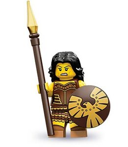 Lego-collectible-minifig-series-10-Warrior-Woman-with-a-shield-and-spear
