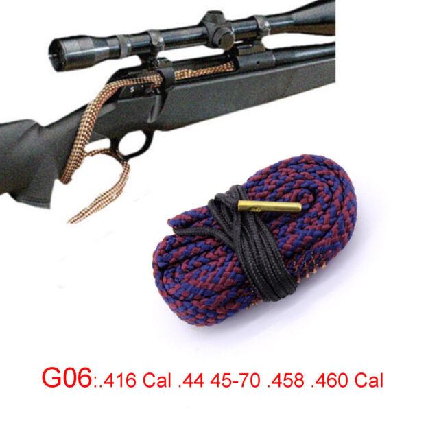 Xhunter Bore Snake .416 Cal .44 45-70 .458 .460 Cal Boresnake Rifle Cleaner G06