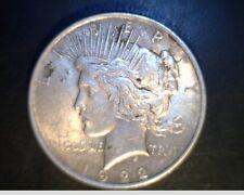 1922 US Peace Dollar, Circulated High Grade, .7734 Oz Slv (US-5746)