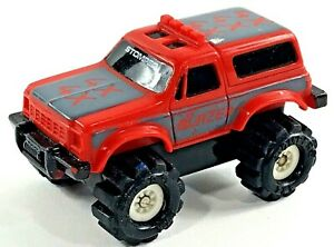 Vintage-Red-Mini-Stomper-4X4-Chevy-Blazer-McDonald-039-s-Toy-Rare-Very-Good