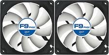 2 x Arctic Cooling F9 PWM Rev. 2 raffreddamento 92 mm per Case Ventole 1800 giri / min (afaco-090p2-gba0) ARTIC