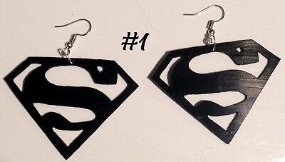 boucle d'oreille hommes superman