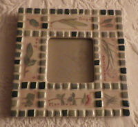 Papel Giftware Photo Picture Frame 6.5 X 6.5 Holds 2.75 X 2.75 Photo