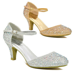 WOMENS-LOW-MID-HEEL-DIAMANTE-ANKLE-STRAP-WEDDING-PROM-PARTY-SHOES-UK-SIZE-345678