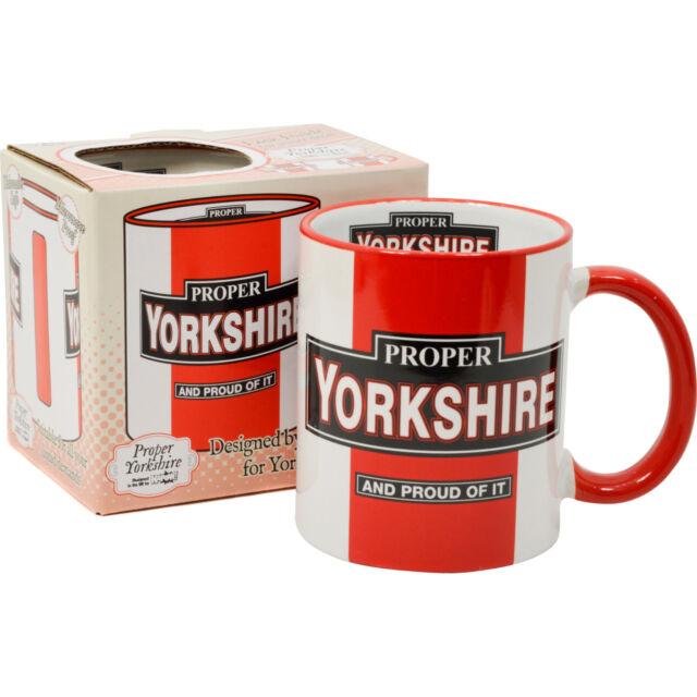 Proper Yorkshire Mug. Proud Christmas Gift Present Idea For Him Her Unique