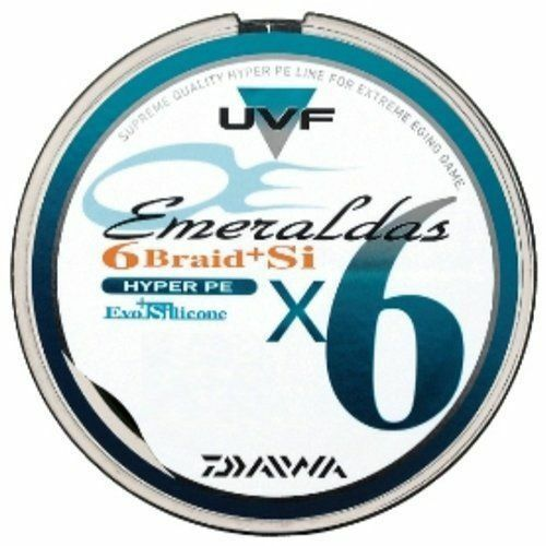 Daiwa PE  LINE UVF Emeraldas 6 Braid+Si 150m Fine Green  Fishing LINE  best quality best price