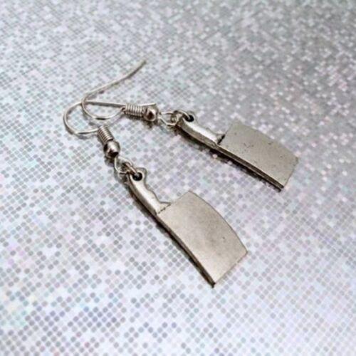 Boucles d/'oreilles Halloween Bijoux Gothic Cleaver Boucles d/'oreilles couteau Personnalité Boucles D/'oreilles