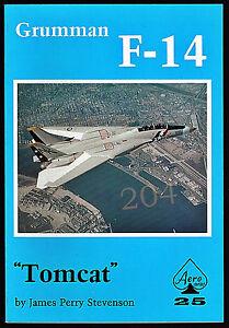 Grumman-F-14-TOMCAT-by-James-Perry-Stevenson-Aero-Series-25-FREE-UK-Shipping