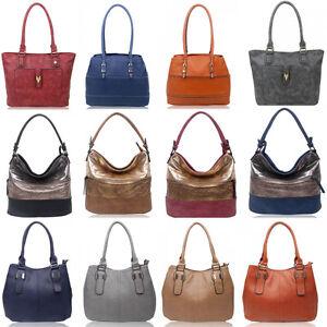 12752ccc8 Image is loading Women-039-s-Zipper-Compartment-Shoulder-Handbags-Light-
