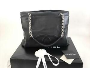 Authentic-Chanel-Timeless-CC-Black-Soft-Caviar-Shopping-Tote-Bag-SHW