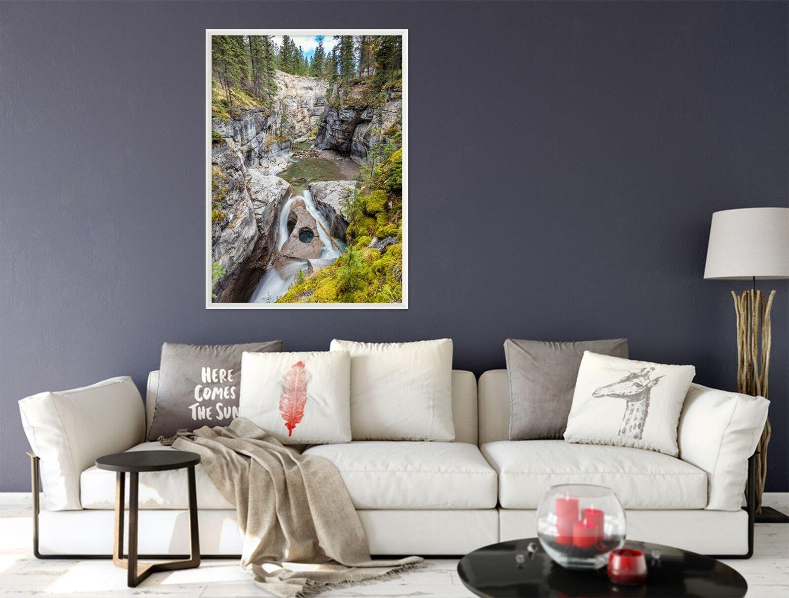 3D Rocky Mountains 6 Framed Poster Home Decor Print Painting Art AJ AU