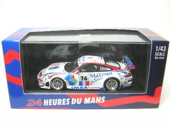Porsche 911 gt3 rsr Nº 76 LEMANS 2008