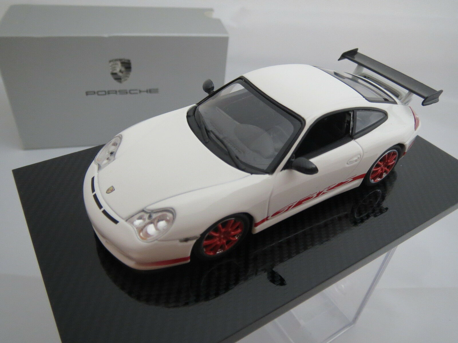 Minichamps Porsche 911 gt3 RS Dealer  Model on perspex plate, 1 43, Top  10 jours de retour