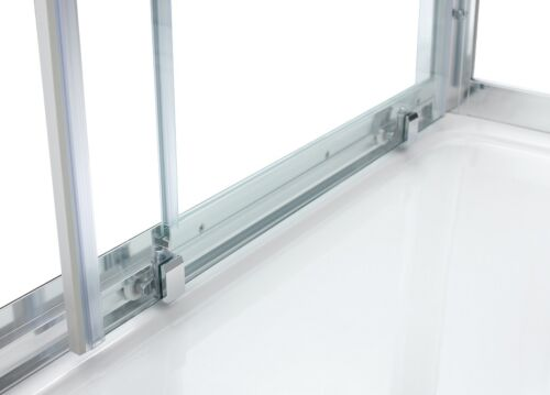 1500mm Sliding shower door enclosure cubicle screen glass bathroom unit