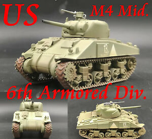 Easy-Model-1-72-U-S-Army-M4-Sherman-Middle-Tank-Model-6th-Armored-Div-36251