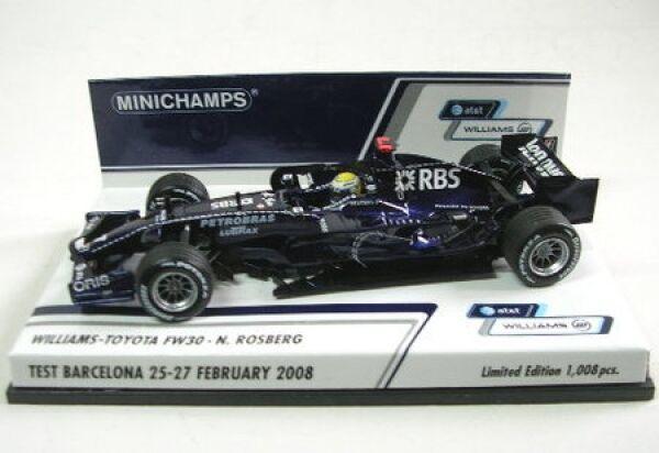Williams-Toyota Fw 30 No. 7 N.Rosberg Test Barcelona Barcelona Barcelona 2008 972e5c