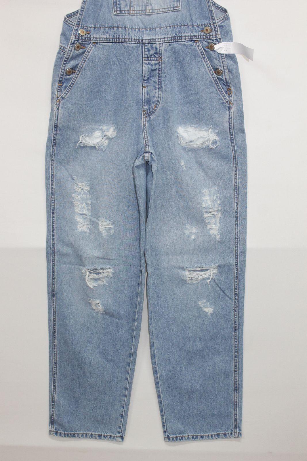Salopette LONDON JEAN (Cod. S581) tg S Jeans Jeans Jeans usato vintage Customized Original a2375b