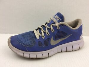 promo code 9c039 b056f Details about Nike Free 5.0 Boys 6 Youth Blue Running Shoe Sneaker Athletic  580565-500 Walking