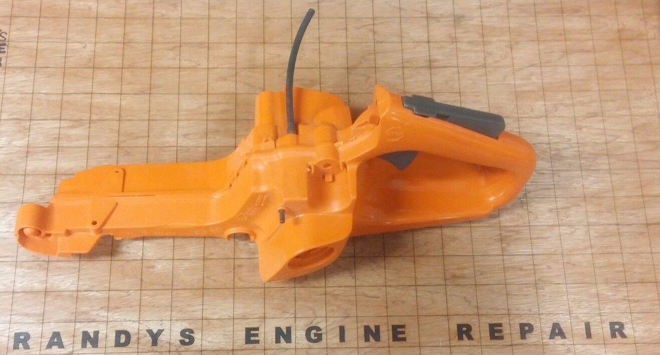 Fabricante de equipos originales Genuino 503863703 Husqvarna 340 345 350 346 353 tanque de combustible MANGO TRASERO NUEVO