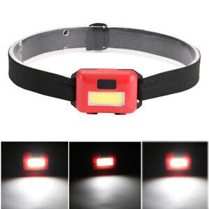 COB-LED-Headlamp-Headlight-Head-Lamp-Light-Torch-Flashlight-Portable-3-Modes-AAA