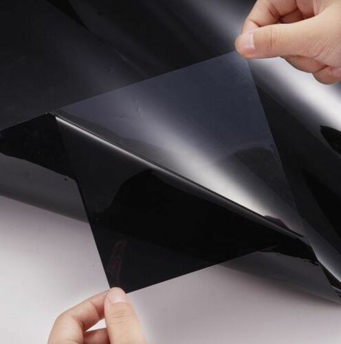 VAN CAR OFFICE TINTING WINDOW TINT FILM SUPER DARK LIMO BLACK 5/% 3M x 50CM