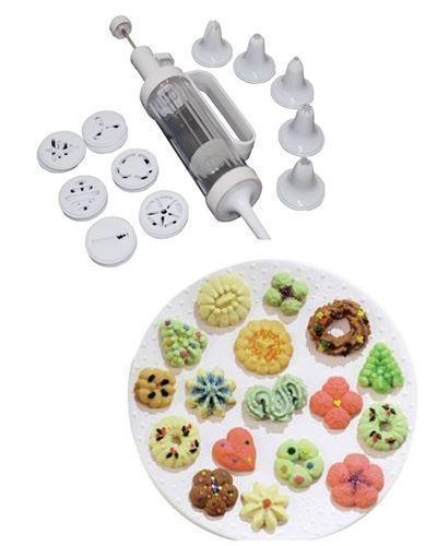 18 pc Cookie Press et Gateaux Décorateur Set biscuit Shaper Baking Kitchen Set Plus