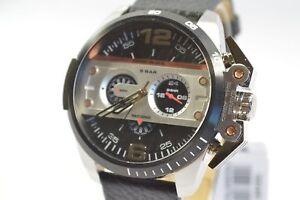 Diesel-DZ4361-Ironside-Black-Chronograph-Leather-Watch