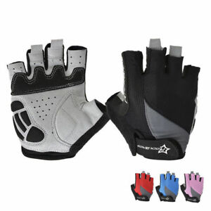 RockBros-Bike-Bicycle-Half-Finger-Gloves-Gel-Pad-Cycling-Short-Finger-Gloves
