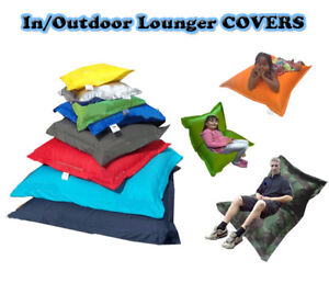 COVERS-ONLY-In-Outdoor-Beanbag-Cushion-Lounger-MADE-IN-THE-UK
