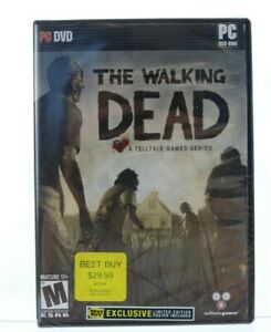Walking-Dead-Limited-Best-Buy-Edition-PC-Brand-New-Sealed-with-Poster-NIP