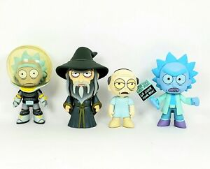 Funko-Rick-and-Morty-Mystery-Minis-Series-3-Rare-Hospice-Wizard-Holo-Clone-Space