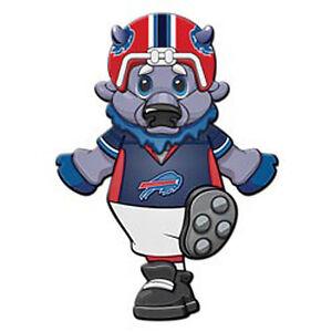 New Buffalo Bills 12 Mascot Window Cling NFL Licensed Football Sport Game Day Football-NFL Fan Apparel & Souvenirs