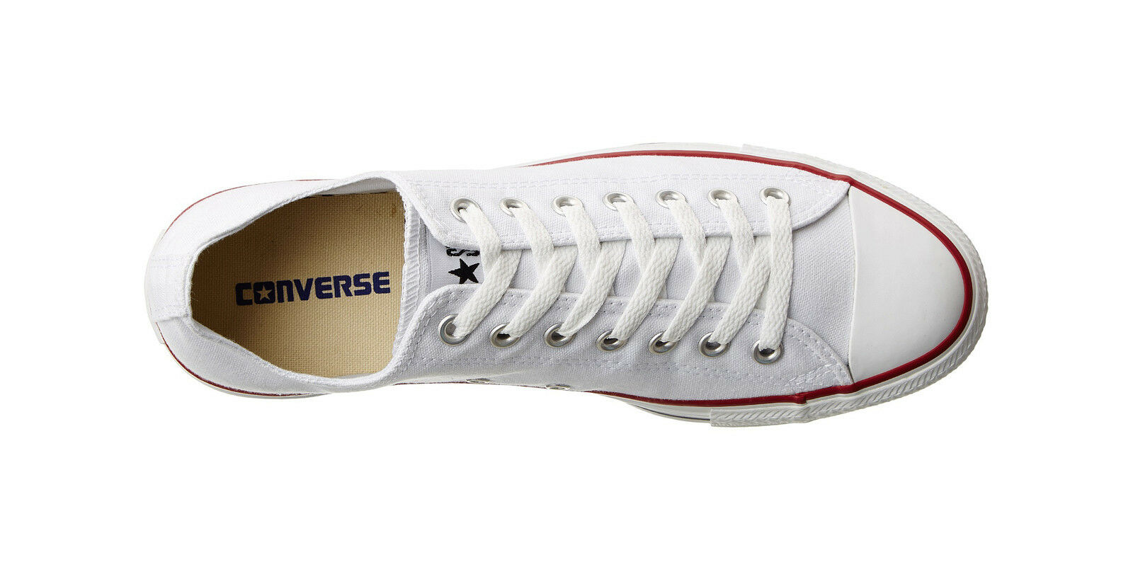 Converse Uomo Shoes Classic Chuck Optical Taylor All Star Low Top Optical Chuck White M7652 6a726c