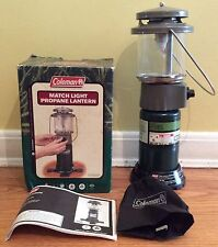 COLEMAN MATCH LIGHT PROPANE LANTERN MODEL 5155