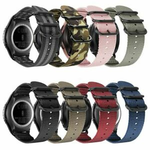 For-Samsung-Gear-Sport-Gear-S2-Classic-Bands-Soft-Nylon-Replacement-Strap