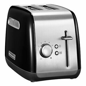 KitchenAid-5KMT2115EOB-Classic-Toaster-Onyx-Schwarz-5-Stufen-Bagel-Taste