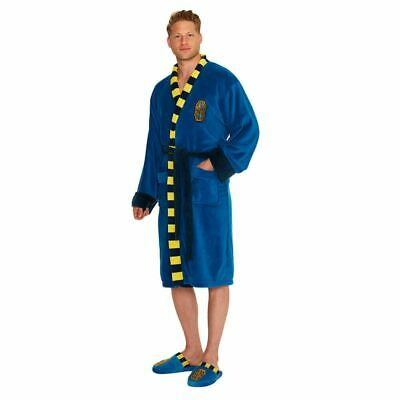 Gut Ausgebildete Official Fantastic Beast Newt Scamander Scarf Fleece Dressing Gown - One Size Angenehm Bis Zum Gaumen