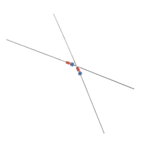 20Pcs 1N34A DO-35 germanium detector diode AM//FM crystal radio TV RSDE