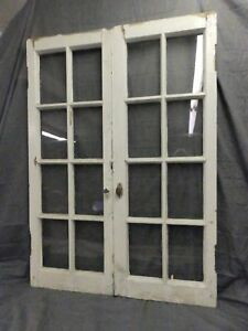 Antique French Door Cat Windows
