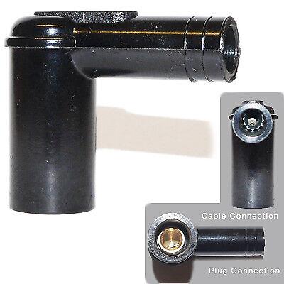 10x spark plug caps Plug Bullet Raccord à vis en Ht plomb 5k Avec Résistance