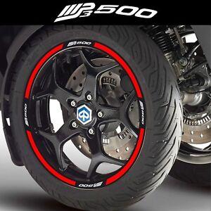 Details Zu Randeinfassung Für Piaggio Mp3 500 Mp3500 Aufkleber Roller 40 Farben