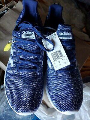 Adidas Cloudfoam Lite Racer BYD running shoe blue/white size 7 BRAND NEW $69 | eBay