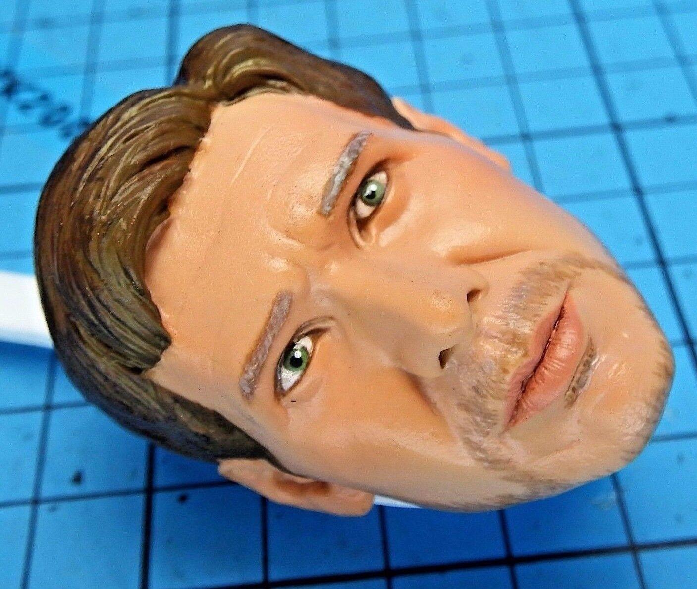 Sideshow 1 6 Indiana Jones Raiders of the Lost Ark Figure - Harrison Ford Head