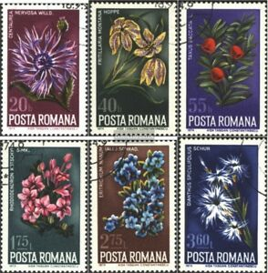 Rumaenien-3224-3229-kompl-Ausg-gestempelt-1974-Pflanzen
