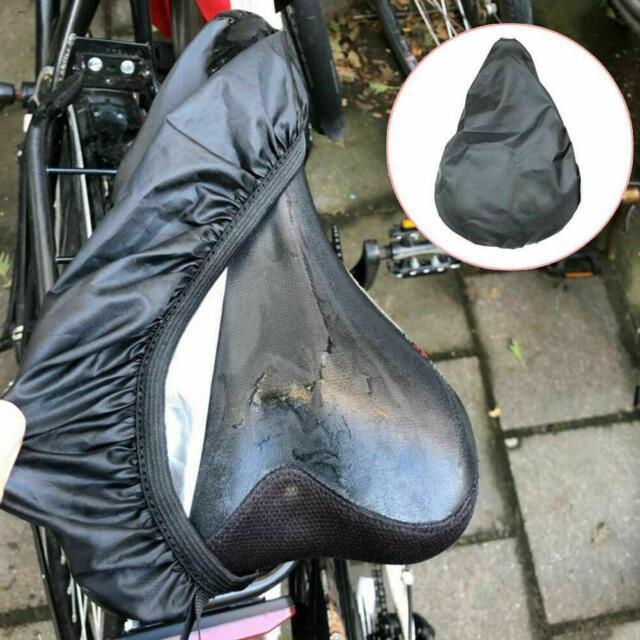 2x Bike Waterproof Seat Cover Elastic Bicycle Bike Cycling Saddle Rain Protector